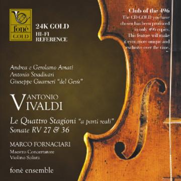 Antonio Vivaldi  Le Quattro Stagioni - CDGOLD 24K