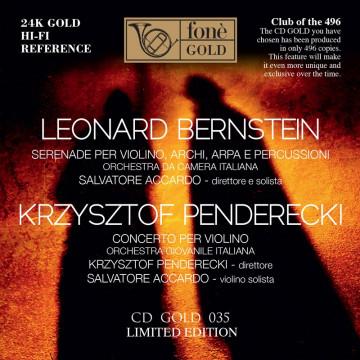 Salvatore Accardo, Bernstein / Penderecki (CDGOLD)
