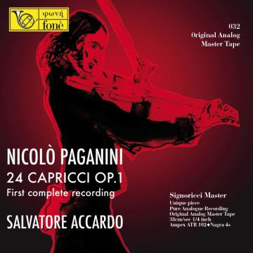 Nicolò Paganini - 24 Capricci for violin solo op. 1 (Tape)