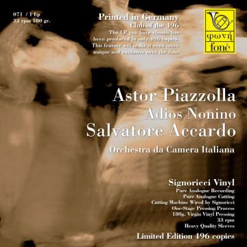 Salvatore Accardo, Adios Nonino - Astor Piazzolla (Vinile)