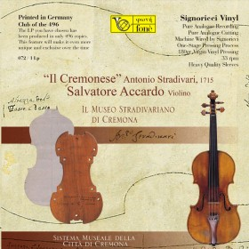 Stradivari - Il Cremonese  Omaggio a Fritz Kreisler