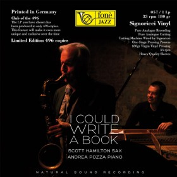 Scott Hamilton/Andrea Pozza  I COULD WRITE A BOOK