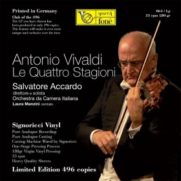 Salvatore Accardo, Antonio Vivaldi  LE QUATTRO STAGIONI ( Vinile)