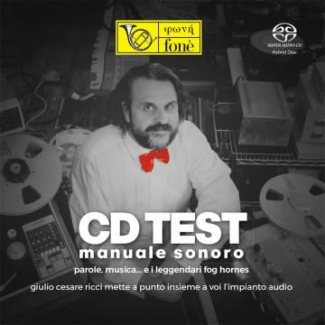 CD TEST, MANUALE SONORO (SACD)