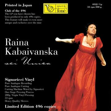 Raina Kabaivanska - Sei Unica (Vinile)