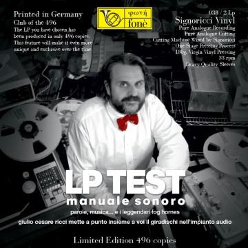 Lp Test Manuale Sonoro - Giulio Cesare Ricci