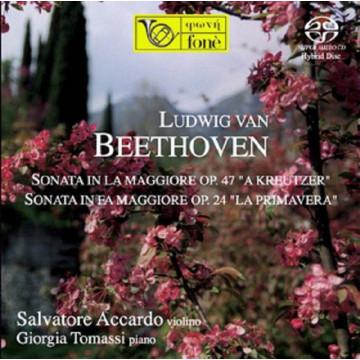 S. Accardo  G. Tomassi  L. van Beethoven  SONATA OP. 47 e OP. 24