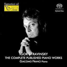 Igor Stravinsky - The Complete published Piano Works (SACD)