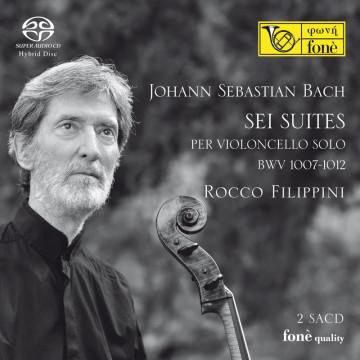 Rocco Filippini - J. S. Bach, Suites per Violoncello