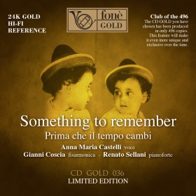 Castelli, Sellani, Coscia - Something to Remember (CD)