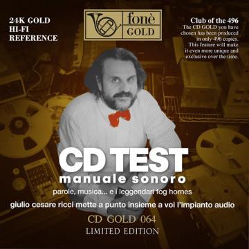 Giulio Cesare Ricci - Cd Test - Manuale Sonoro - CDGOLD24K