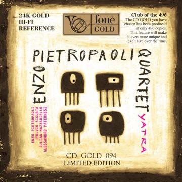 Enzo Pietropaoli Quartet - Yatra - CDGOLD24K