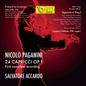 Salvatore Accardo  Nicolò Paganini - 24 Capricci op.1