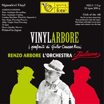 VINYLARBORE Renzo Arbore l'Orchestra Italiana