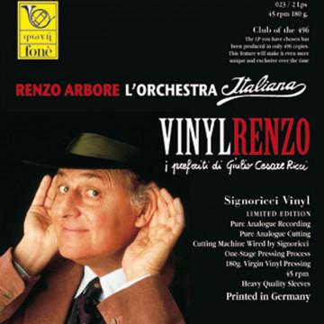 VINYLRENZO Renzo Arbore l'Orchestra Italiana