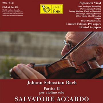 Johann Sebastian Bach  - Partita II per violino solo in re minore