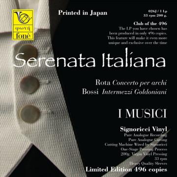 """Rota  Bossi  """"Concerto per archi"""" -  """"Intermezzi Goldoniani"""""""