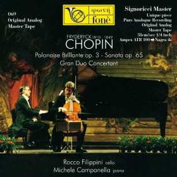 Fryderyck Chopin (1810 / 1849) -  Filippini, Campanella