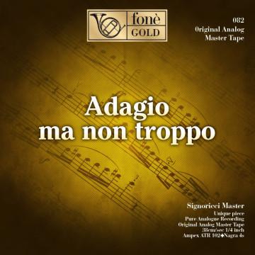 Adagio ma non troppo - aa.vv  (Tape)