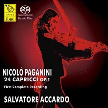 Salvatore Accardo, PAGANINI 24 Capricci (SACD)