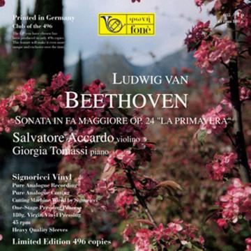 "Accardo/Tomassi - L. van Beethoven SONATA OP. 24 ""La Primavera"""