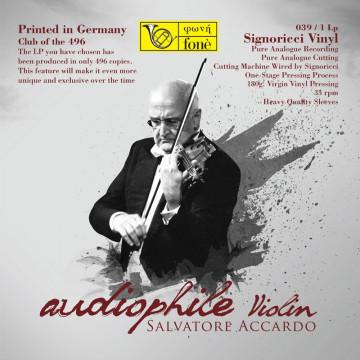 Salvatore Accardo  Audiophile Violin