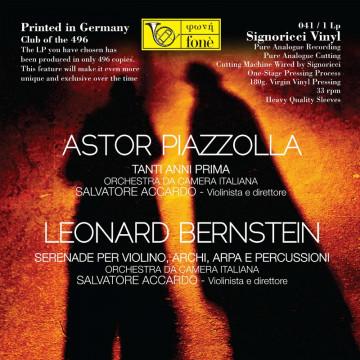 Salvatore Accardo, PIAZZOLLA & BERNSTEIN (Vinile)