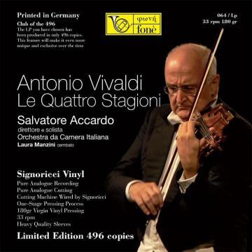 Salvatore Accardo  A. Vivaldi  LE QUATTRO STAGIONI