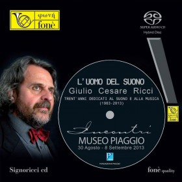 """Incontri  """"L'uomo del suono""""  Museo Piaggio (SACD)"""