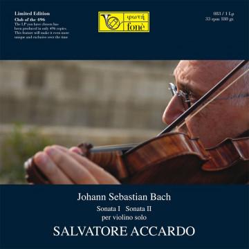 Salvatore Accardo, J.S.Bach Sonata 1 & 2 per Violino Solo (LP)