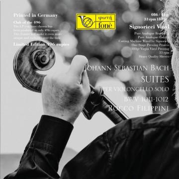 Rocco Filippini - J. S. Bach, Suites per Violoncello BWV 1011-1012 (LP)