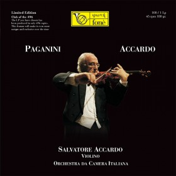 Salvatore Accardo, N.Paganini (Vinile 45 rpm)