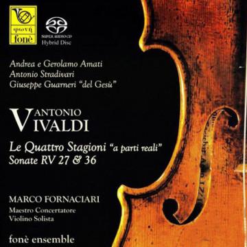 Vivaldi - Le quattro stagioni a parte reali Sonate RV27 & RV36