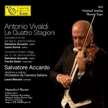 Salvatore Accardo - Antonio Vivaldi, Le Quattro Stagioni (TAPE)