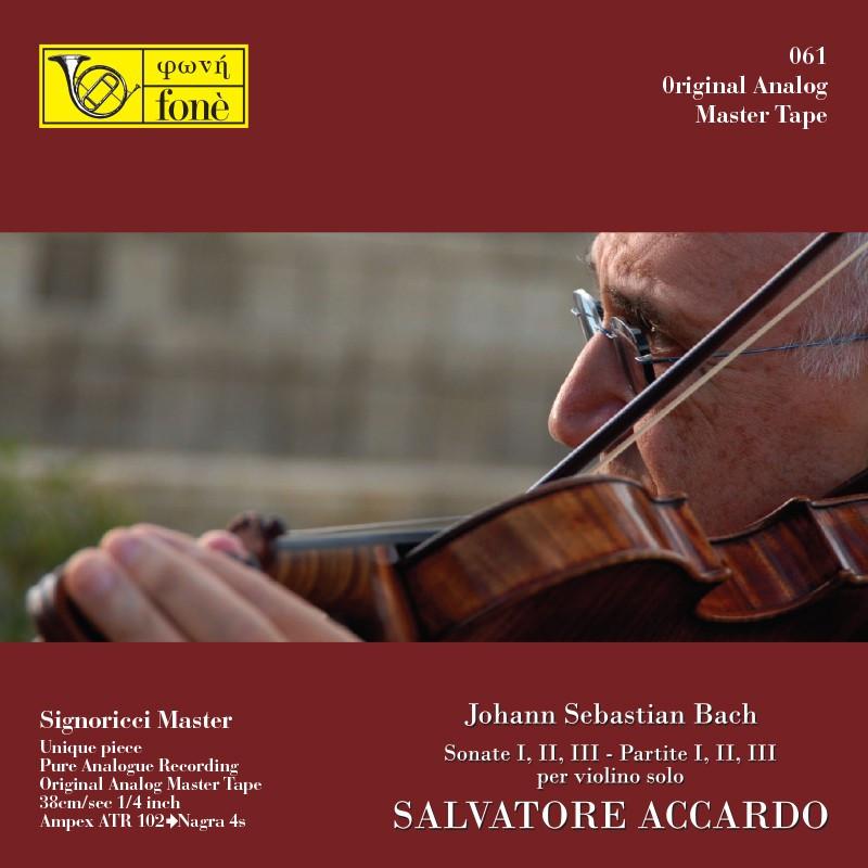 Salvatore Accardo - J.S. Bach per Violino Solo (TAPE)