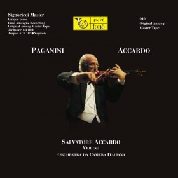 Paganini - Accardo (Tape)