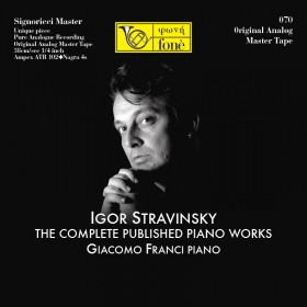 I.STRAVINSKY - THE COMPLETE PUBLISHED PIANO WORKS (TAPE)