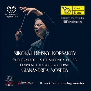 SHÉHÉRAZADE - Nikolaj Rimsky, Korsakov  Suite sinfonica op. 35 (SACD)