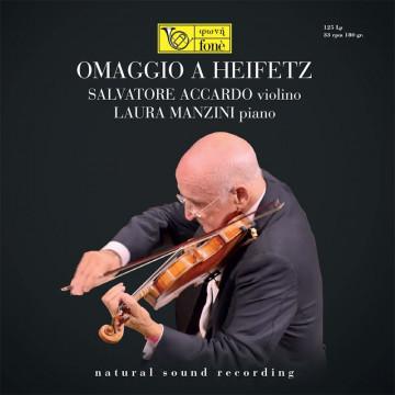 OMAGGIO A HEIFETZ - Salvatore Accardo & Laura Manzini [LP]
