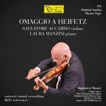 OMAGGIO A HEIFETZ - Salvatore Accardo & Laura Manzini (TAPE)