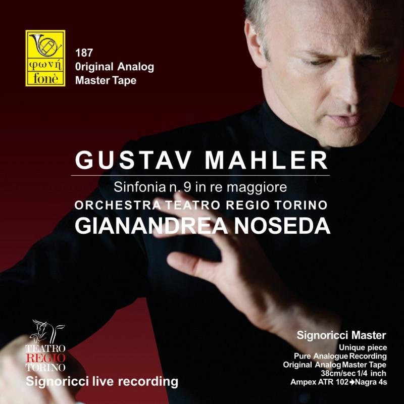 Gianandrea Noseda, Gustav Mahler - Sinfonia n. 9 in RE maggiore (TAPE)