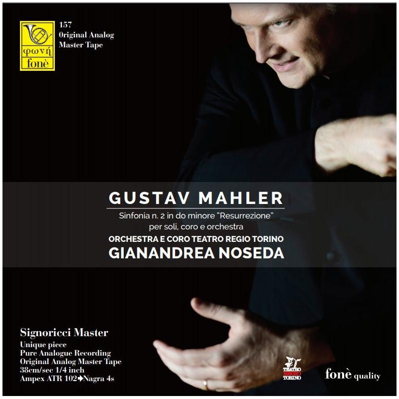 GUSTAV MAHLER Sinfonia n. 2 in do minore Resurrezione per soli coro e orchestra (TAPE)