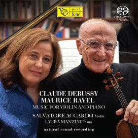 Claude Debussy - Maurice Ravel - Music for Violin & Piano [SACD]