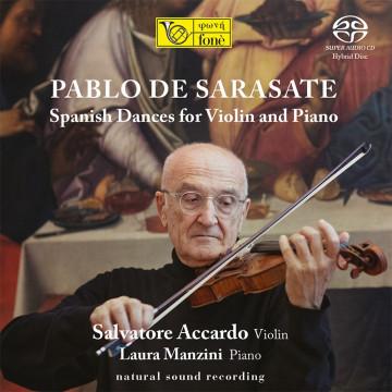 PABLO DE SARASATE - Spanish Dances for Violin and Piano [SACD]