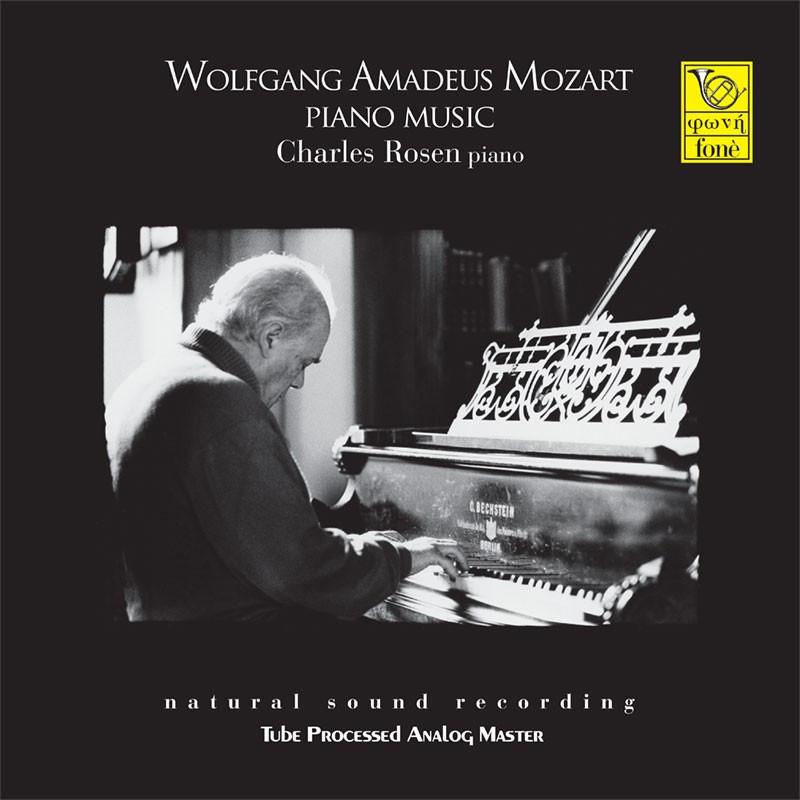 Wolfgang Amadeus Mozart Piano Music Charles Rosen piano