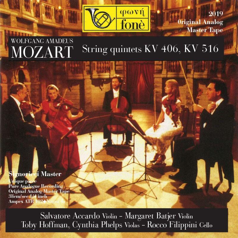 W.A. MOZART String quintets KV406, KV516 [TAPE]