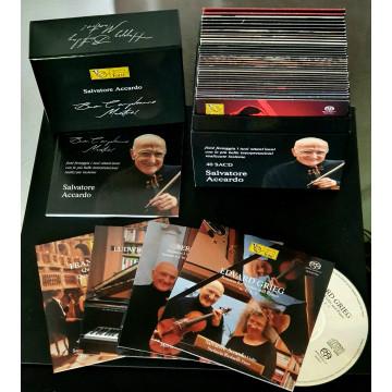 """Box set 40 SACD """"Buon Compleanno Maestro!"""" - Salvatore Accardo"""