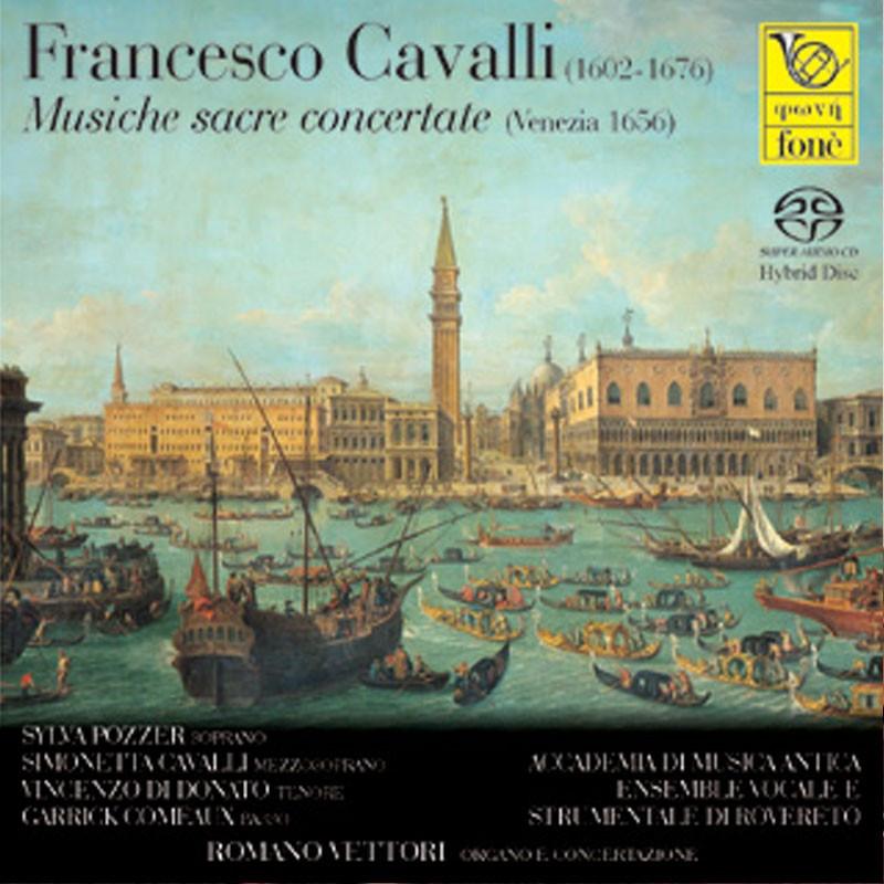 Francesco Cavalli - Musiche sacre concertate (Venezia 1650)