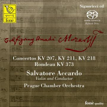 Salvatore Accardo, Mozart - Concertos KV 207, 211, 218 (SACD)