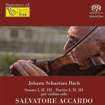 Salvatore Accardo - J.S. Bach per Violino Solo (SACD)